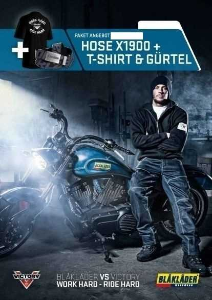 BLAKLÄDER VICTORY ARBEITSHOSE/GÜRTEL/SHIRT SET C50