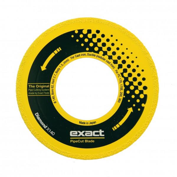 EXACT DIAMANT TRENNSCHEIBE X140 DM 140MM