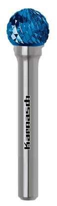 FRÄSSTIFT 4.0x3.6x3x45 MM FORM D/KUD HP-3 BLUETEC