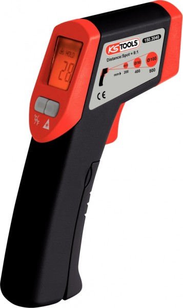 KS-TOOLS INFRAROT-THERMOMETER, -50° BIS 500°