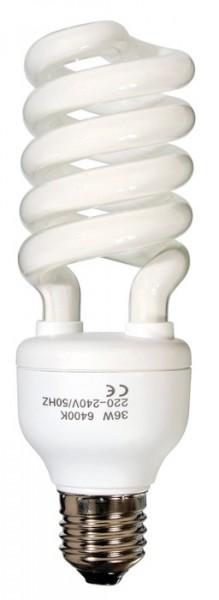 Ersatz-Energiesparlampe 36W, E27 für Rundstrahler